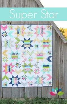 Super Star quilt pattern from V. & Co.