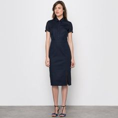 Robe polo manches courtes -  LAURA CLEMENT LAURA CLEMENT