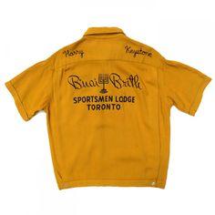 ヒルトン ビンテージボーリングシャツ【Hilton】【1950's~1960's】VINTAGE BOWLING SHIRTS - RUMHOLE beruf online store