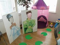 princess and the frog cutouts