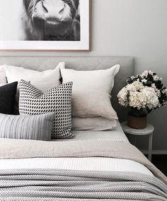 Home Interior Plants .Home Interior Plants Home Decor Bedroom, Bedroom Inspirations, Interior Design, Home, Bedroom, Bed, Interior, Bedroom Makeover, Home Bedroom