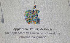Apple channels Gaudi for Barcelona storefront.