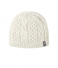 dad66b8bde8 The North Face Wool Alpaca Blend Fleece Lined Cable Fish Beanie Hat ...