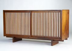 Our Nakashima credenza is similar to this