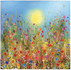 Flowerscapes: Wild Flower Paintings by Yvonne Coomber