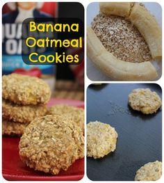 Banana Oatmeal Cookies Recipe - iSave A2Z