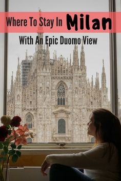 It's 100% possible to stay in Milan with a Duomo view without spending a fortune and I'm revealing this hidden gem in today's post!