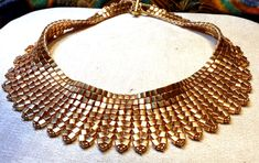 Cleopatra's Collar designed and beaded by Sharon A. Kyser http://SharDonExclusives.blogspot.com