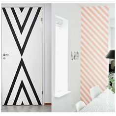 diy id es deco avec du masking tape ruban de masquage masquage et bande. Black Bedroom Furniture Sets. Home Design Ideas