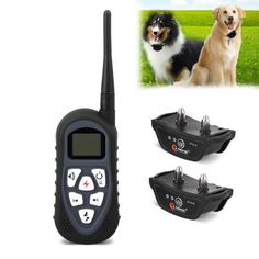 New AT-219 Remote Trainer Electric Dog Shock Collar for Two Dogs with Auto Anti Bark, Rechargeable and Waterproof Features--Support 18 Levels of Progressive Shock + Adjustable Vibration + Adjustable Ultrasound - http://www.thepuppy.org/new-at-219-remote-trainer-electric-dog-shock-collar-for-two-dogs-with-auto-anti-bark-rechargeable-and-waterproof-features-support-18-levels-of-progressive-shock-adjustable-vibration-adjustable-u/