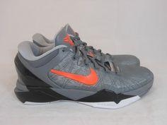 Vtg OG 2012 Nike Zoom Kobe 7 VII System sz 8 VIII Predator Pack Wolf Grey Mamba #Nike #AthleticSneakers #tcpkickz