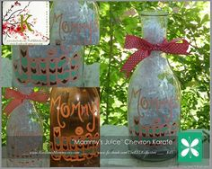Hand Painted  Mommy's Juice  Wine Carafe    by The KEL Kollection, $45.00 + shipping  www.facebook.com/TheKELKollection