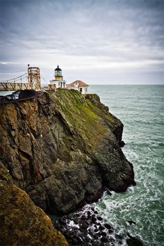 Lighthouse on the Rock (Point Bonita)
