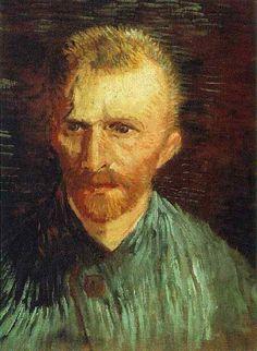 """Vincent van Gogh """"Self-portrait"""" Paris, Summer, 1887"""