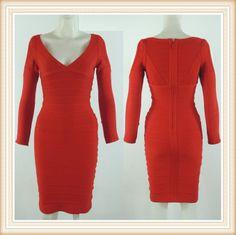 red bandage dress v neck red girl evening bandage dress bodycon sexy casual DM606 E-mail:fashondress@gmail.com Tel:86-189 3399 5760       86-135 1277 1920