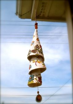 3 Tiered Pottery Bell