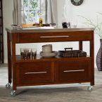 Belham Living Concord Kitchen Island with Optional Stools - White - Kitchen Islands and Carts at Hayneedle