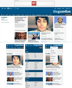 http://www.theguardian.com/uk?view=mobile  Direct access to level 1 and 2 in the mobile navigation