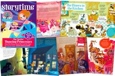 Some of the fabulous stories in Storytime Issue 22! Never miss an issue! Subscribe today at STORYTIMEMAGAZINE.COM