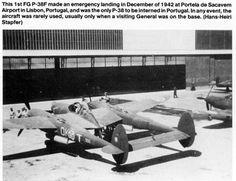 ex-OGMA: Aviões da FAP - Lockheed P-38