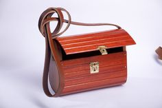 Handcrafted Designer Wooden Bags with adjustable genuine leather straps , very light in weight and strong long lasting made , water resistant and durable . Wooden Bag, Strong, Water, Bags, Design, Gripe Water, Handbags, Bag