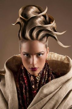 and hair styles gorgeous sculpted updo by ruslan tatyanin of russia 8775