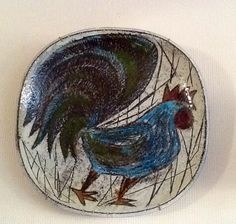 Anna - Lisa Thomson, Uppsala Ekeby, Sweden Uppsala, Ceramic Artists, Ceramic Pottery, Sweden, Decorative Bowls, Lisa, Old Things, Plates, Ceramics