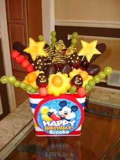 Mickey Fruit Bouquet
