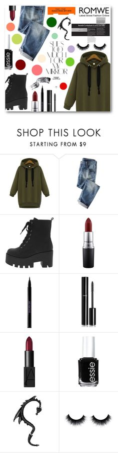 """""""Latest Street Fashion"""" by tasnime-ben ❤ liked on Polyvore featuring Wrap, MAC Cosmetics, Urban Decay, Chanel, NARS Cosmetics, Essie, Rika, MML and romwe"""