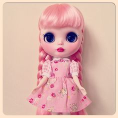 Retro Bambi Dress in Pink with Embroidery Modeled by Chou Photo by Muriel