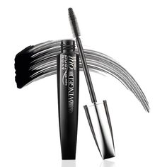 SuperExtend Winged Out Eyelashes soar up and out to dramatic new heights!   Feather-inspired brush Breakthrough precision tapered brush with hundreds of fine filigree bristles captures every lash, drawing it up and out.   Intense lengthening formula Raven black lengthening fibres wrap and lift each individual lash for a long, fluttery multi-dimensional look.