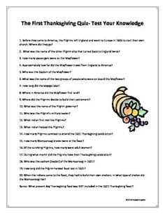 Thanksgiving Quiz - Test Your Thanksgiving Knowledge. The first Thanksgiving trivia quiz. How many answers do you know? Some wil. Thanksgiving Quiz, Thanksgiving Activities, Thanksgiving Dinners, Thanksgiving Games For Adults, Holiday Activities, Twenty Questions, Trivia Questions And Answers, Nutrition Meal Plan, Cheese Nutrition