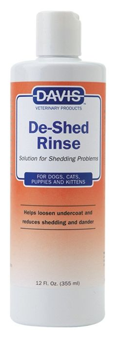 Davis De-Shed Pet Rinse, 12 oz * Read more  at the image link. (This is an affiliate link and I receive a commission for the sales)