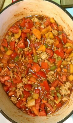 Wheat belly turkey chili