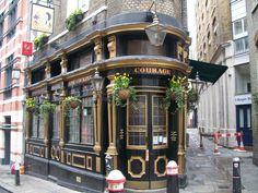 Old London Pubs | The Cockpit Tavern Entrance