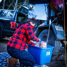 Need a bath? That's no problem with our hot water-on-demand trailer option! #offgridtrailers #offgrid #offroad #camp #nature #adventure #weekend #warrior #weekendwarrior #trailer #luxury