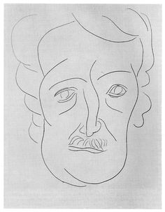Henri Matisse - Portrait of Edgar Allan Poe