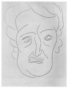 Edgar Allan Poe by Henri Matisse