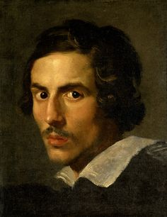 Self Portrait as a Young Man - Gian Lorenzo Bernini. Artist: Gian Lorenzo Bernini.