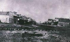 Newton, Kansas circa 1872.