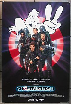 Ghostbusters II (1989) Original Advance One Sheet Poster (27x41) @ niftywarehouse.com #NiftyWarehouse #Ghostbusters #Movie #Ghosts #Movies #Film