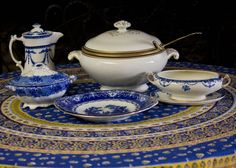 old fashioned soup tureens