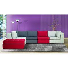 Καναπές Puzzle Outdoor Sectional, Sectional Sofa, Couch, Outdoor Furniture, Outdoor Decor, Home Decor, Modular Sofa, Decoration Home, Corner Sofa