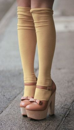 Socks & heels | a splash of vanilla