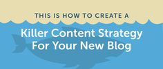 How to Create a Killer Content Strategy for Your New Blog #Entrepreneur #mompreneur #WorkFromHome #SmallBiz