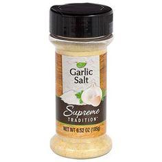 Supreme Tradition Garlic Salt, 6.52 oz.