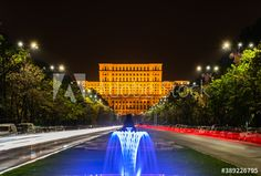Palace of the Parliament - Bucharest - Buy this stock photo and explore similar images at Adobe Stock Palace Of The Parliament, Bucharest, Adobe, Fair Grounds, Urban, Stock Photos, Explore, Travel, Image