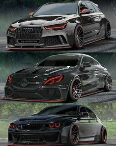 AUDI-MERCEDES-BMW