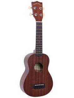 Makala Soprano Mahogany Ukulele by Kala (MK-S) Music Courses, Body Joints, Guitar Amp, Ukulele, Music Instruments, The Originals, Guitars, Centre, Folk