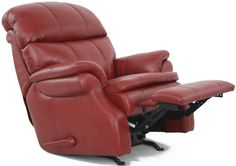 Barcalounger Baron II Leather Recliner - Stargo Red $967.90